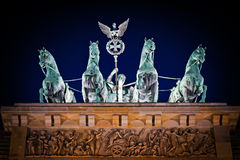 Brandenburger Tor in Berlin Stock Photo