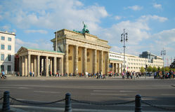 Brandenburger Tor in Berlin Lizenzfreie Stockbilder