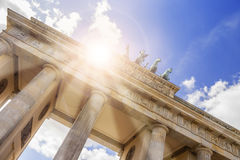 Brandenburger tor in berlin Royalty Free Stock Photography