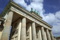 Brandenburger Tor, Berlin royalty free stock photos