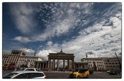 Brandenburger Tor, Berlin stock image