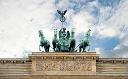 Brandenburger Tor, Berlin, Deutschland Stockfotos
