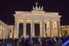 Brandenburger Tor in Berlin, Deutschland Lizenzfreies Stockfoto