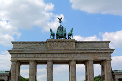 Brandenburger Tor in Berlin, Deutschland Stockbild