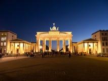 Brandenburger tor berlin Stock Image