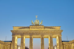 The Brandenburger Tor at Berlin, Germany royalty free stock image