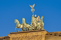 The Brandenburger Tor at Berlin, Germany Stock Photos