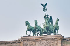 The Brandenburger Tor at Berlin, Germany Royalty Free Stock Photo