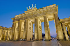 The Brandenburger Tor at Berlin, Germany Stock Photo