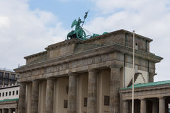 Brandenburger tor berlin germany Stock Photography
