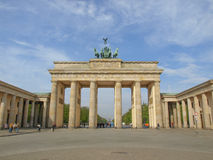 Brandenburger Tor Berlin Royalty Free Stock Image