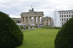 Brandenburger Tor Berlin Stock Photography