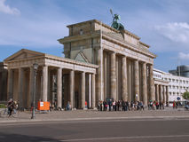 Brandenburger Tor Berlin Stock Photo