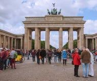 Brandenburger Tor Berlin stock photography