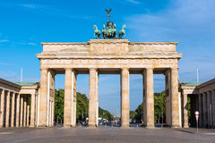 The Brandenburger Tor in Berlin Royalty Free Stock Photography