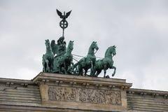 Brandenburger tor berlin Tyskland fotografering för bildbyråer