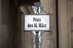 Brandenburger tor berlin Tyskland royaltyfri foto