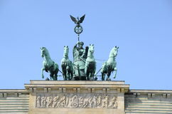 Brandenburger Tor Berlins Stockbild