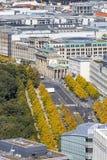Brandenburger Tor Brandenburg Gate Één van het famost oriëntatiepunt royalty-vrije stock foto's