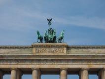 Brandenburger Tor (Brandenburg Gate) in Berlin. Germany royalty free stock photo