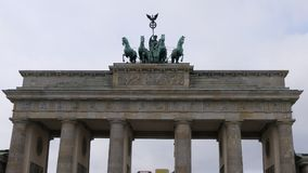 Brandenburger Tor Brandenburg Gate, Berlin Germany stock foto's