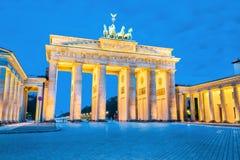 Brandenburger Tor (Brandenburg Gate) in Berlin, Germany stock photography