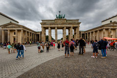 The Brandenburger Tor (Brandenburg Gate) in Berlin, Germany Royalty Free Stock Images