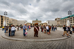 The Brandenburger Tor (Brandenburg Gate) in Berlin, Germany Stock Photo
