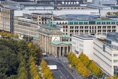 Brandenburger Tor Brandenburg Gate Un du point de repère famost photographie stock libre de droits