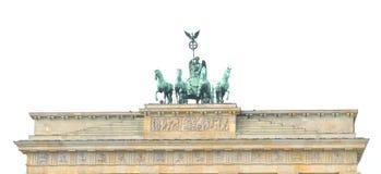 Brandenburger Tor i Berlin, Tyskland arkivfoton