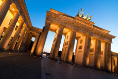 Brandenburger Tor from left oblique V2 Royalty Free Stock Photography