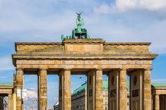 Brandenburger Tor in Berlin royalty free stock image