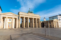 Brandenburger Tor in the morning Royalty Free Stock Images