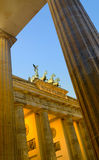 Brandenburger Tor at night Royalty Free Stock Image