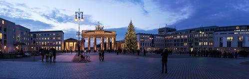 Brandenburger tor panorama Royalty Free Stock Photography