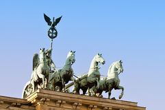 Brandenburger Tor, Quadriga Stock Photography