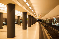 Brandenburger Tor station Stock Images