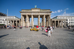 Brandenburger Tor in Summer Royalty Free Stock Photography