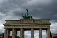 Brandenburger tor stock photography