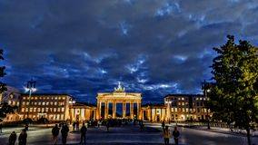 Brandenburgertor zdjęcie royalty free