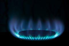 Brandend gas Royalty-vrije Stock Afbeelding