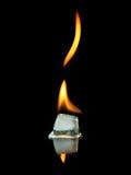 Brandend Ijs Stock Afbeeldingen