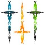 Brandend zwaard royalty-vrije illustratie