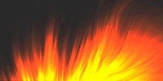 Brandende brand, opvlammende vlam, achtergrond royalty-vrije stock foto