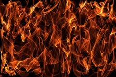 Brandende brandillustratie als achtergrond Stock Afbeelding