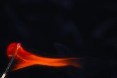 Brandende gelijke. Royalty-vrije Stock Foto