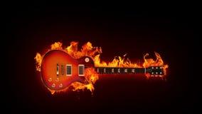 Brandende gitaar