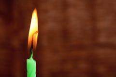 Brandende kaars Stock Fotografie