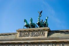 Branderburg port, Berlin. royaltyfria foton