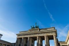 Branderburg port, Berlin. royaltyfri foto